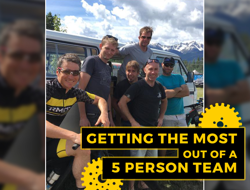 Getting the most out of a 5 person team leighton poidevin okanagan 24